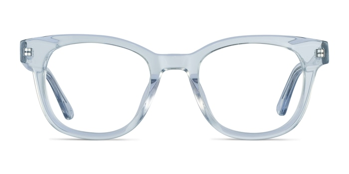 Lighthouse Clear Blue Acetate Eyeglass Frames from EyeBuyDirect