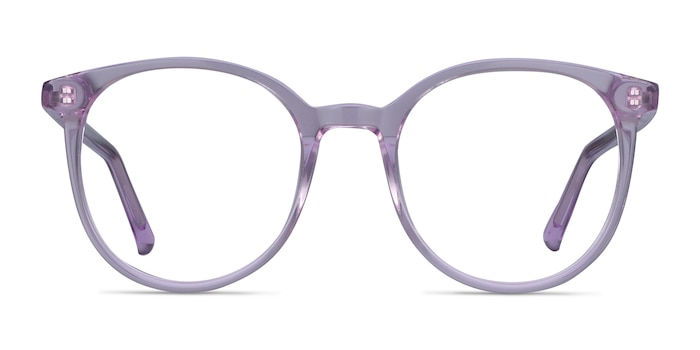 Noun Purple Acetate Eyeglass Frames from EyeBuyDirect