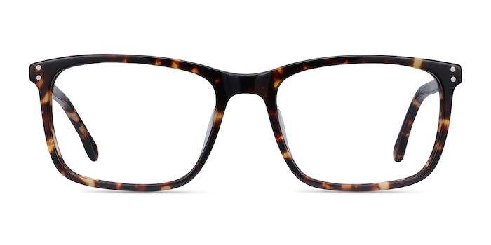 Connect Tortoise Acetate Eyeglass Frames from EyeBuyDirect