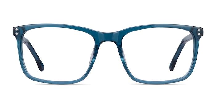 Connect Green blue Acétate Montures de Lunette de vue d'EyeBuyDirect