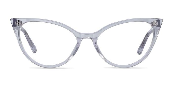Quartet Clear Acetate Eyeglass Frames from EyeBuyDirect