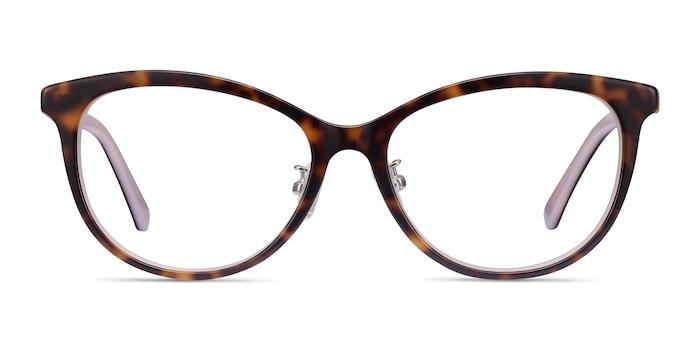 Helena Tortoise Pink Acetate Eyeglass Frames from EyeBuyDirect