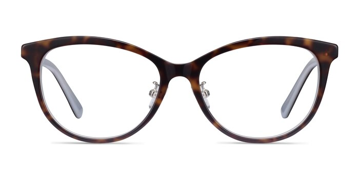 Helena Tortoise Acetate Eyeglass Frames from EyeBuyDirect
