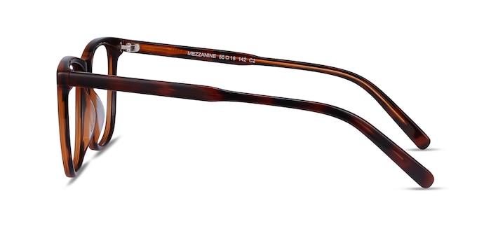 Mezzanine Brown Acetate Eyeglass Frames from EyeBuyDirect