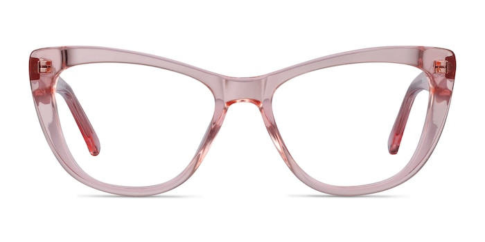 Little Charlotte Pink Acetate Eyeglass Frames from EyeBuyDirect