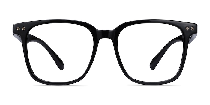 Piano Black Plastic Eyeglass Frames from EyeBuyDirect