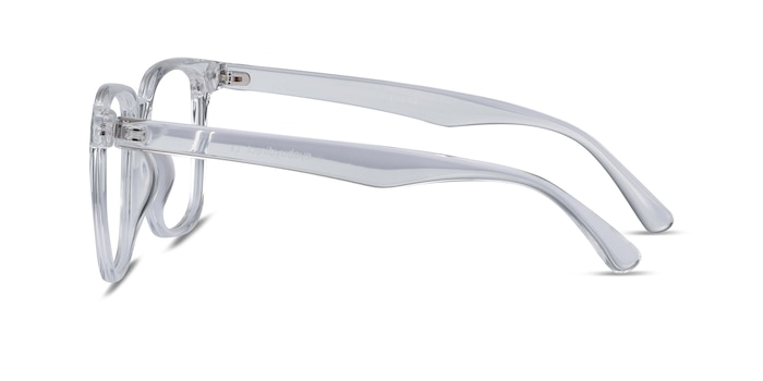 Piano Clear Plastic Eyeglass Frames from EyeBuyDirect