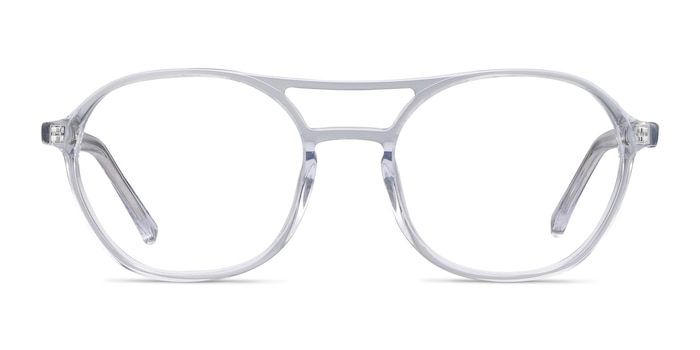 Higher Clear Acetate Eyeglass Frames from EyeBuyDirect