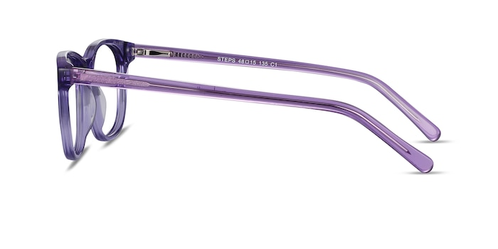 Steps Purple Acetate Eyeglass Frames from EyeBuyDirect
