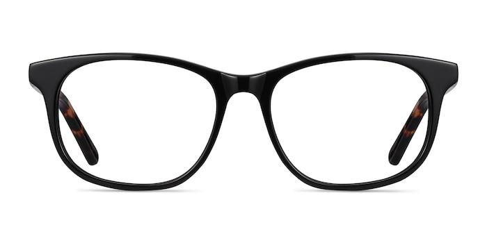 Steps Noir Acétate Montures de Lunette de vue d'EyeBuyDirect