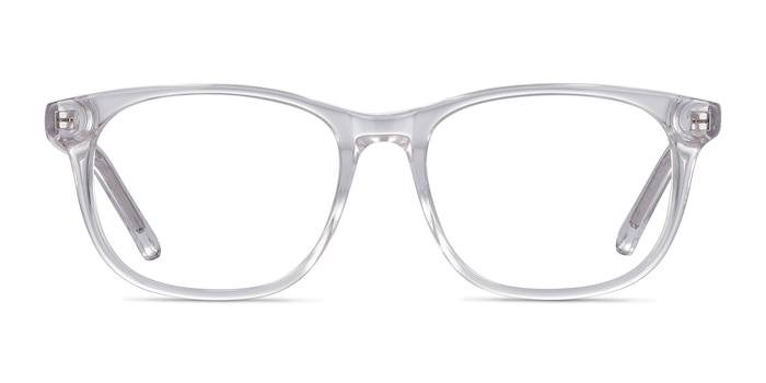 Steps Clear Acetate Eyeglass Frames from EyeBuyDirect