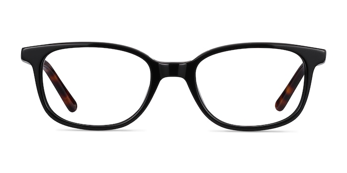 Leap Black Acetate Eyeglass Frames from EyeBuyDirect