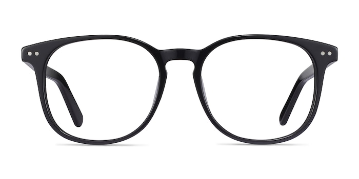 Ander Black Acetate Eyeglass Frames from EyeBuyDirect