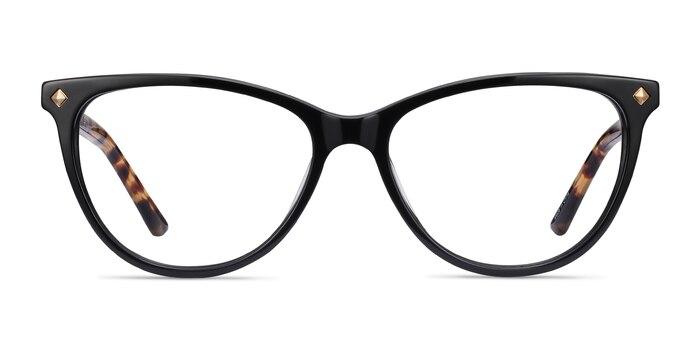 Leonie Black Tortoise Acetate Eyeglass Frames from EyeBuyDirect