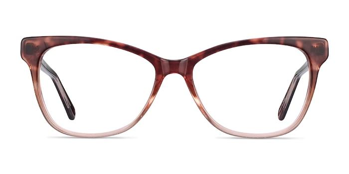 Rosalie Orange Acetate Eyeglass Frames from EyeBuyDirect