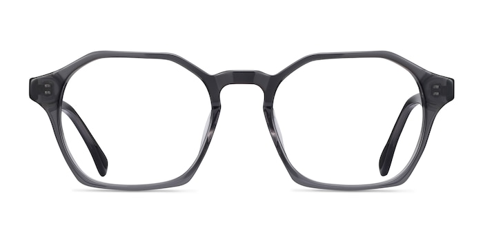Orchid Gray Acetate Eyeglass Frames from EyeBuyDirect
