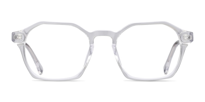 Orchid Clear Acetate Eyeglass Frames from EyeBuyDirect