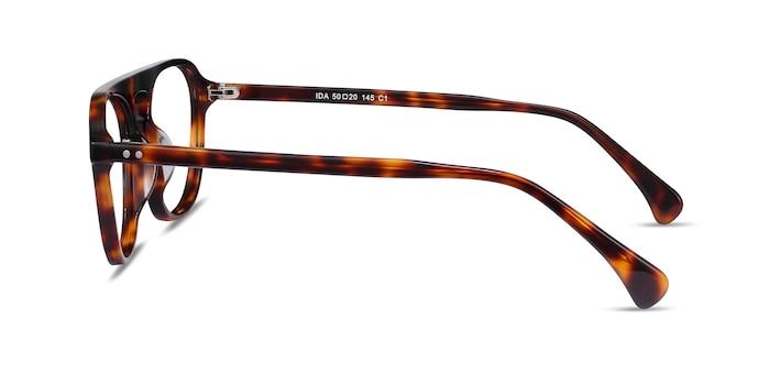Ida Tortoise Acetate Eyeglass Frames from EyeBuyDirect