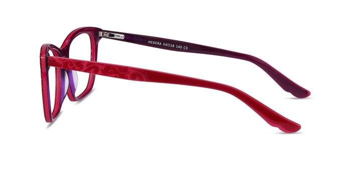 Hedera Raspberry Pink Acetate Eyeglass Frames from EyeBuyDirect