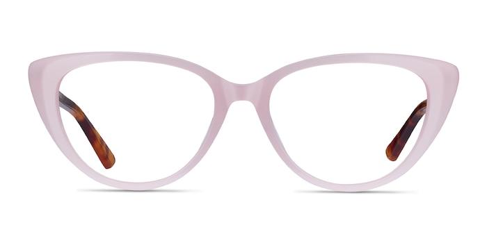 Anastasia Iridescent Pink & Tortoise Acétate Montures de Lunette de vue d'EyeBuyDirect