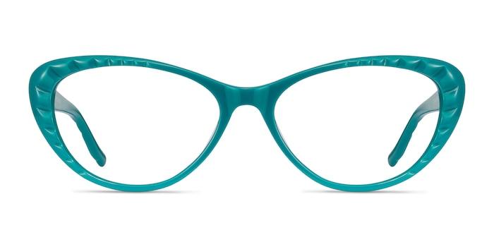 Persona Teal Acetate Eyeglass Frames from EyeBuyDirect