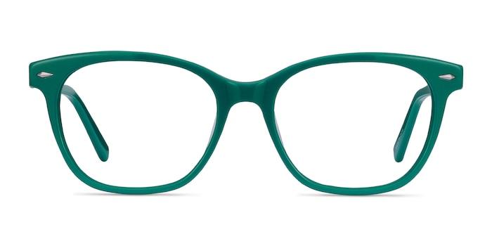 Yana Teal Acetate Eyeglass Frames from EyeBuyDirect