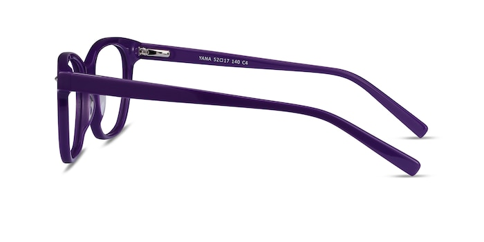 Yana Purple Acetate Eyeglass Frames from EyeBuyDirect