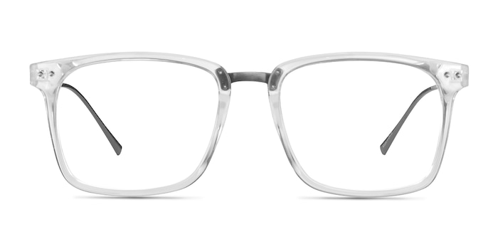 Forte Clear Plastic-metal Eyeglass Frames from EyeBuyDirect
