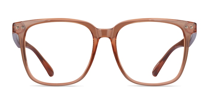 Piano Brown Plastic Eyeglass Frames from EyeBuyDirect