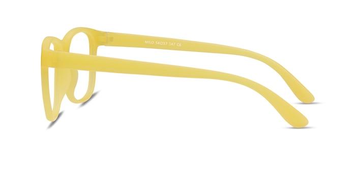 Milo Yellow Plastic Eyeglass Frames from EyeBuyDirect