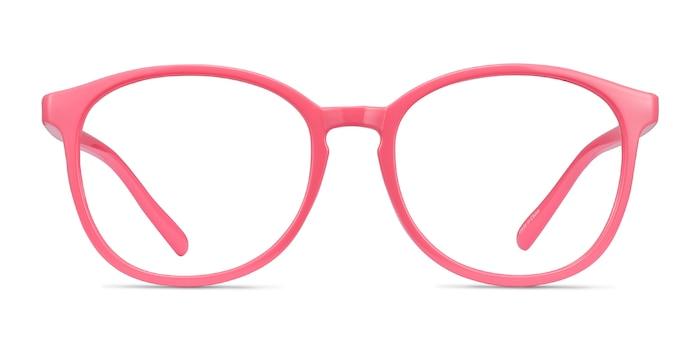 Dutchess Neon Pink Plastique Montures de Lunette de vue d'EyeBuyDirect