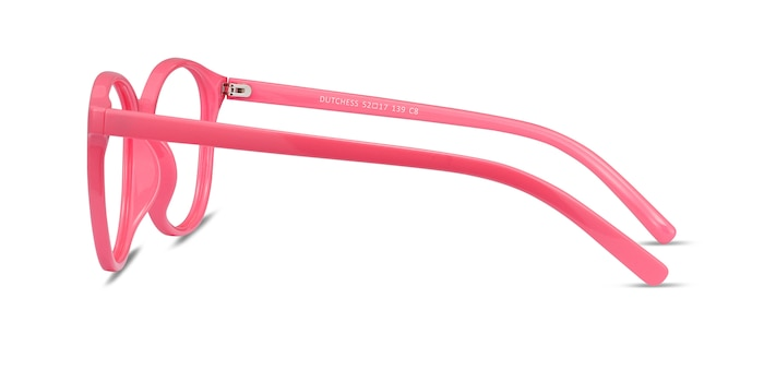 Dutchess Neon Pink Plastic Eyeglass Frames from EyeBuyDirect