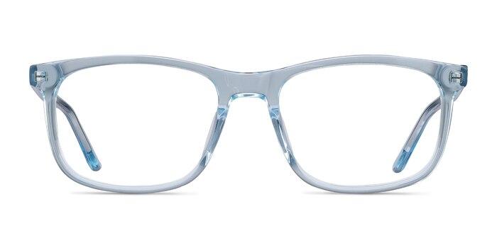 Ballast Clear Blue Acetate Eyeglass Frames from EyeBuyDirect
