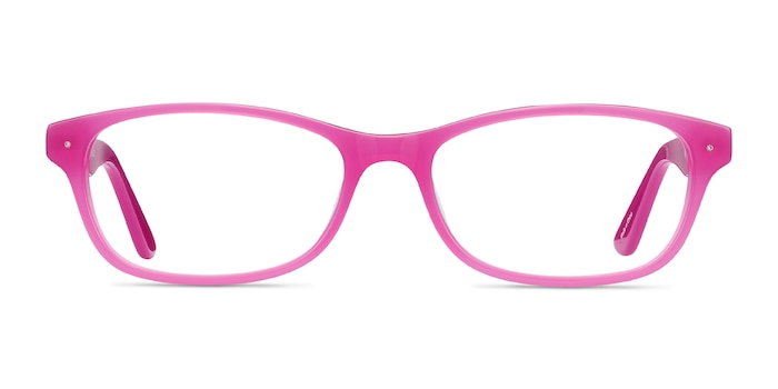 Kedah Pink Acetate Eyeglass Frames from EyeBuyDirect