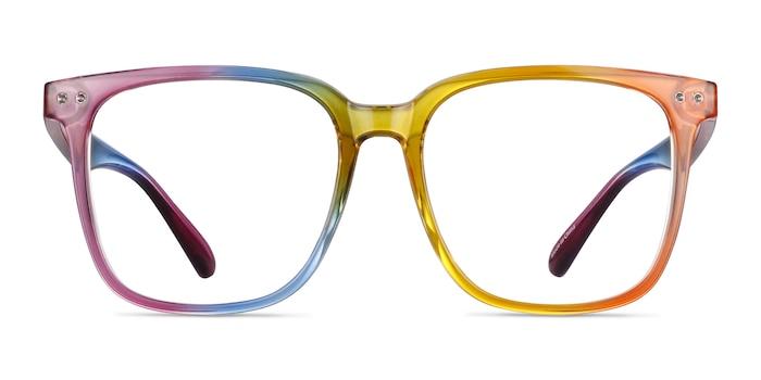 Freedom Rainbow Plastic Eyeglass Frames from EyeBuyDirect