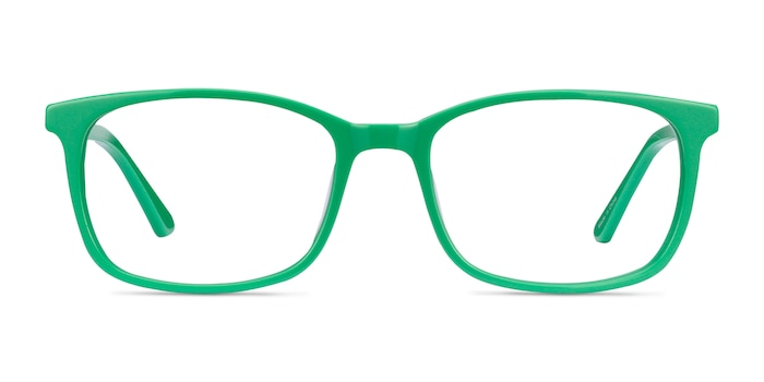Equality Green Acetate Eyeglass Frames from EyeBuyDirect