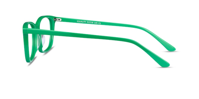 Equality Green Acetate Eyeglass Frames from EyeBuyDirect