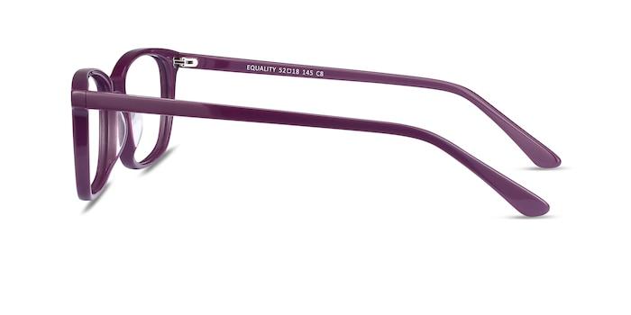 Equality Purple Acetate Eyeglass Frames from EyeBuyDirect