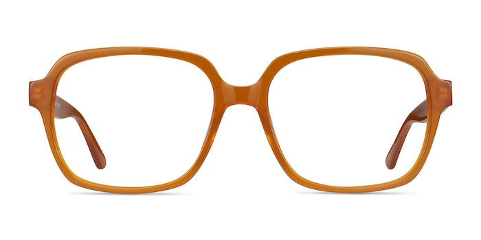 Tompkins Mellow Yellow Acetate Eyeglass Frames from EyeBuyDirect