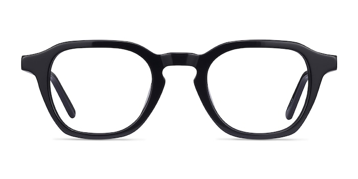 Victor Black Acetate Eyeglass Frames from EyeBuyDirect