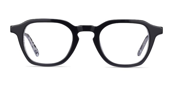 Victor Black & Zebra Acetate Eyeglass Frames from EyeBuyDirect