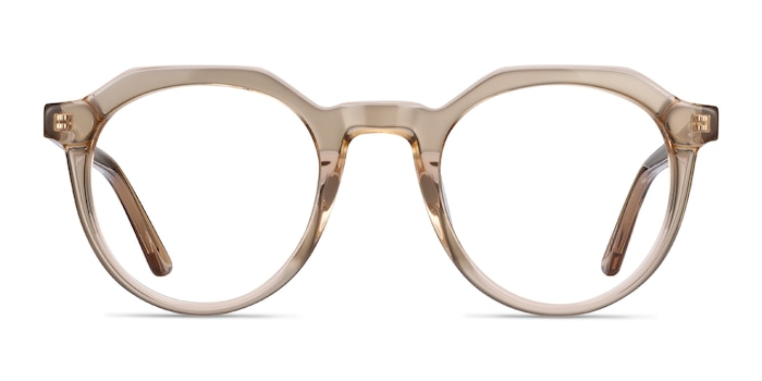 Mikoto Light Brown Acetate Eyeglass Frames from EyeBuyDirect