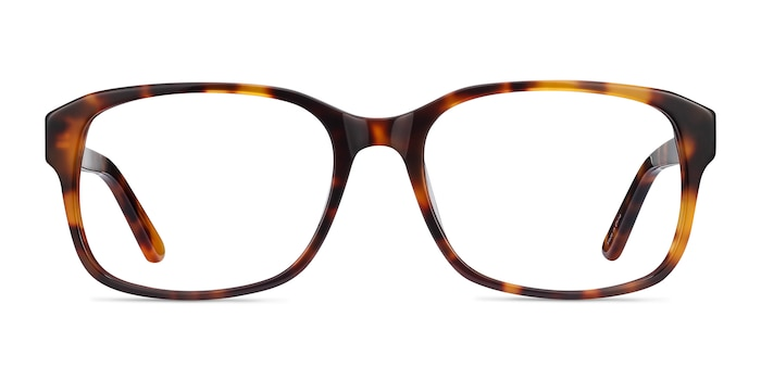 Tobias Tortoise Acetate Eyeglass Frames from EyeBuyDirect