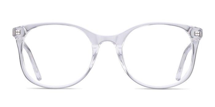 Greta Clear Acetate Eyeglass Frames from EyeBuyDirect