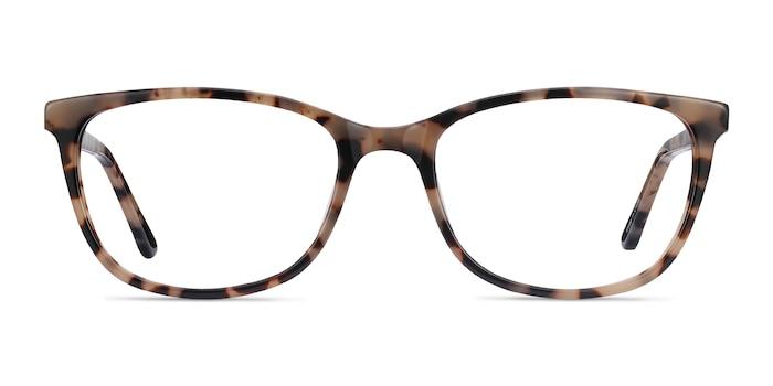 Lena Ivory Tortoise Acetate Eyeglass Frames from EyeBuyDirect