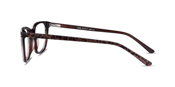 Lena Leopard Acetate Eyeglass Frames from EyeBuyDirect