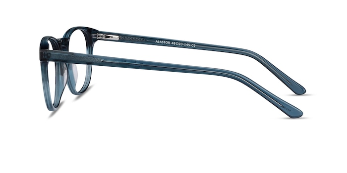 Alastor Blue Acetate Eyeglass Frames from EyeBuyDirect