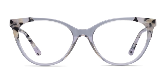 Dorset Clear Tortoise Acetate Eyeglass Frames from EyeBuyDirect