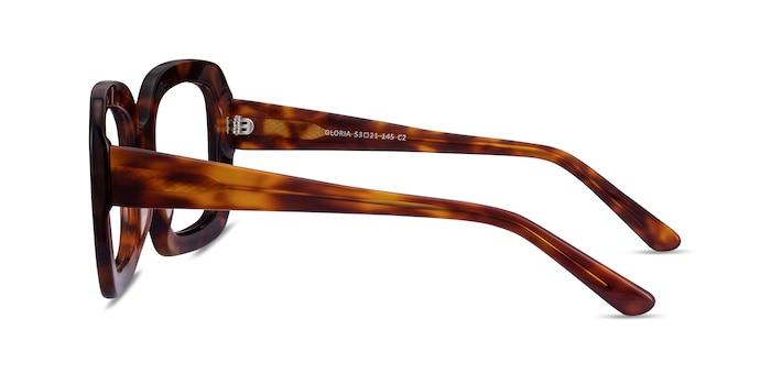 Gloria Tortoise Acetate Eyeglass Frames from EyeBuyDirect