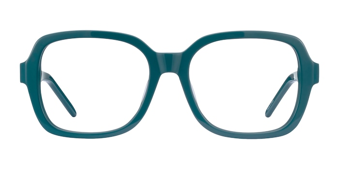 Renee Teal Acetate Eyeglass Frames from EyeBuyDirect